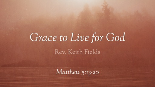 Feb 9, 2020 Grace to Live for God