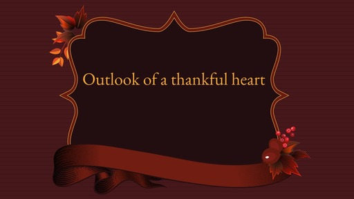 God's will: Give Thanks
