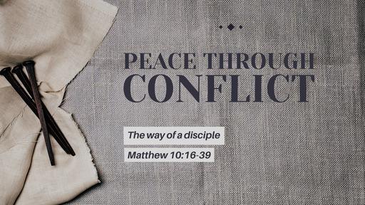 Peace through conflict