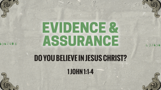 Do you believe in Jesus Christ?