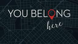 You Belong Here subheader 16x9 PowerPoint Photoshop image