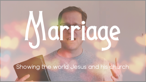 Household Text Colossians - Marriage Intro