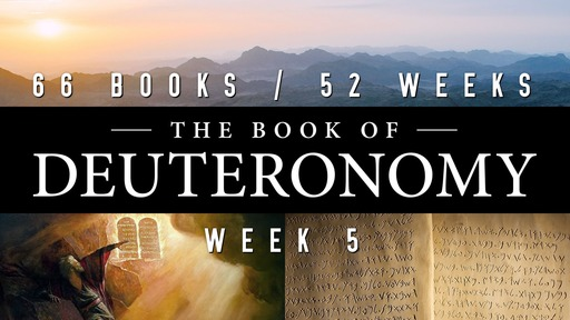 66/52 - Week 5 Deuteronomy