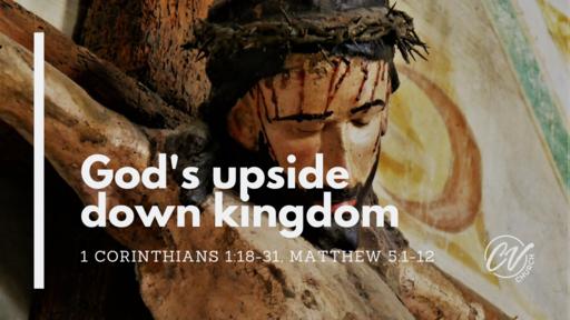 God's upside down kingdom