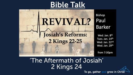 Revival? Josiah's Reforms