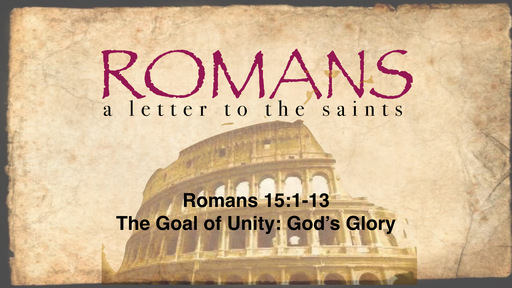 Image result for romans 15 1-13