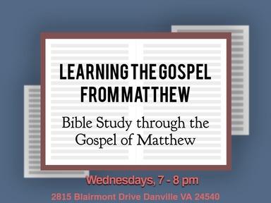 Learning the Gospel from Matthew