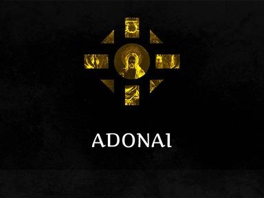 """Adonai"""
