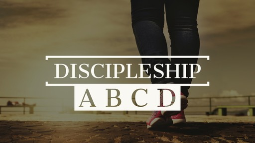 Sunday 16th of February AM - Discipleship A B C D - Cultivate