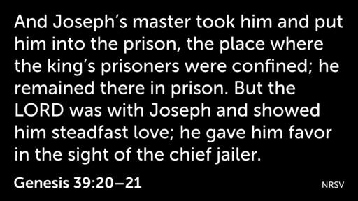 Joseph: Living The Dream - From Prison to Praise