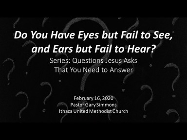Do You Have Eyes but Fail to See, and Ears but Fail to Hear?