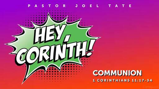 Hey, Corinth!