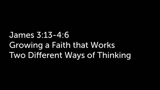 Two Different Ways of Thinking