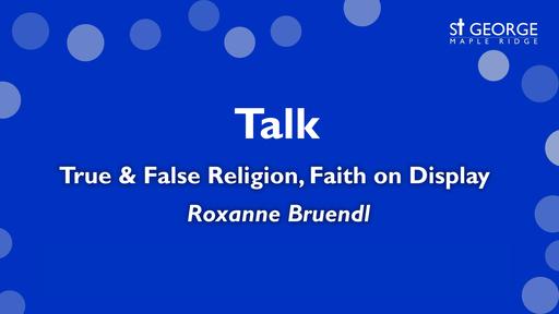 """Mark 7 """"True & False Religion, Faith on Display"""""""