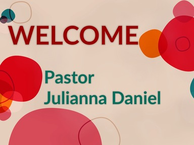 2020 Sunday February 16_Pastor Julianna Daniel