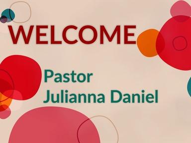 2020 Sunday February 16_Pastor Julianna Daniel