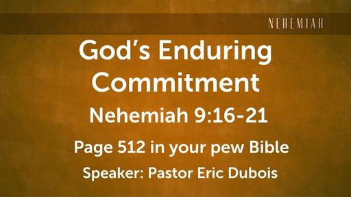 Gods Enduring Committment