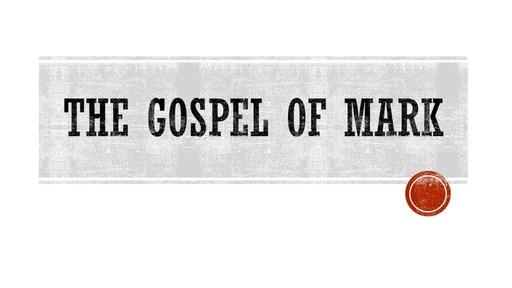 The Gospel of Mark  (Mark 12:13-44)
