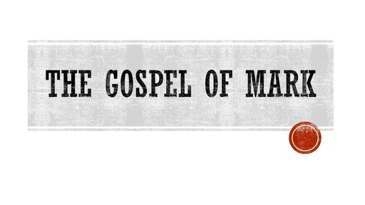 The Gospel of Mark  (Mark 12:13-44)