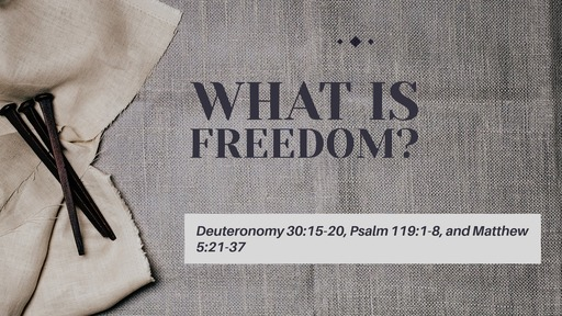 God's Promise of Freedom