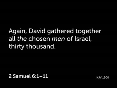 David's Journey Through the Psalms