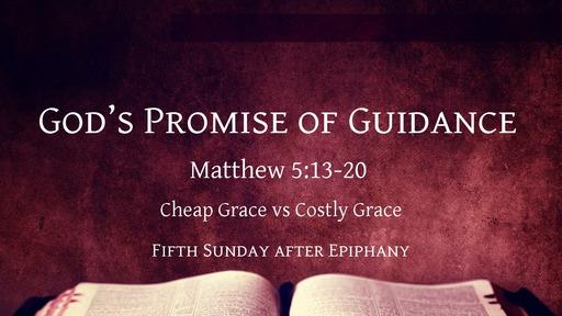 God's Promise of Guidance