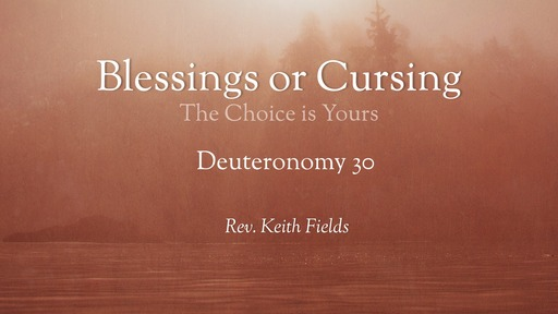 Feb 16, 2020 - Blessing or Cursing - Pastor Keith
