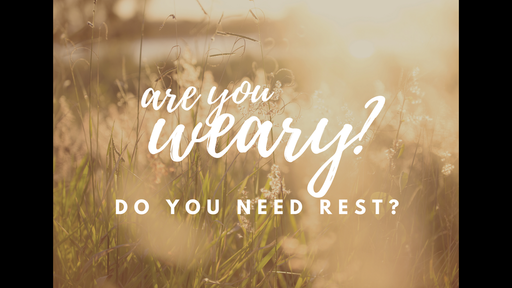 Do You Need Rest?