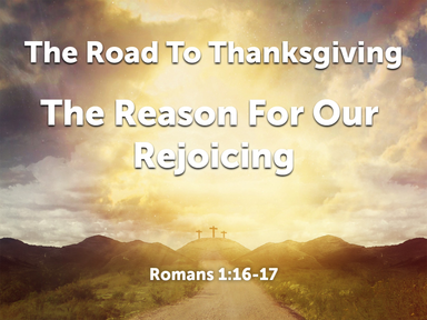 The Road To Thanksgiving