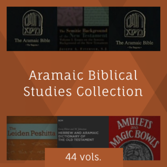 Aramaic Biblical Studies Collection (44 vols.)