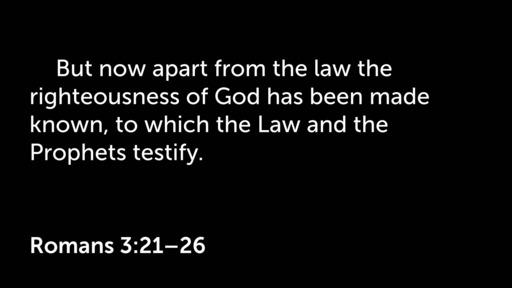 Romans  2:1-3:20