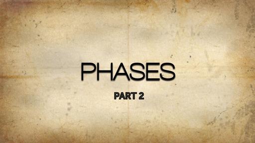 Phase 2 - Discipleship