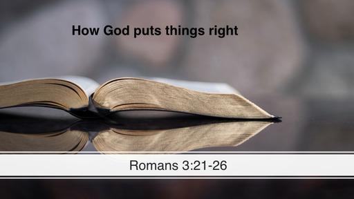 Romans  3:21-26