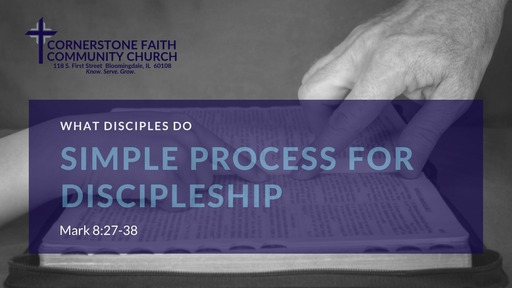 February 23, 2020 Message Recording for What Disciples Do