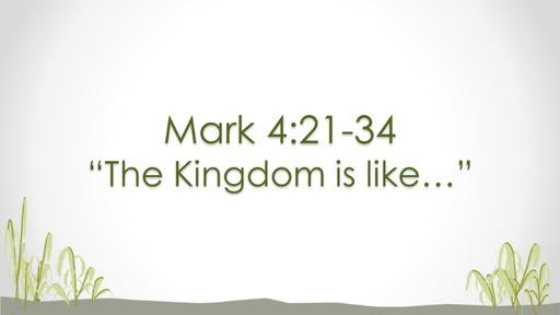 Mark 4:21-34 | Rebecca Prewett | February 23, 2020