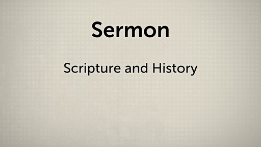Scripture and History