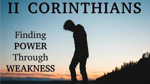 Finding Power Through Weakness: Calling & Comfort