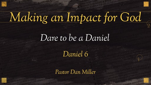 Making an Impact for God