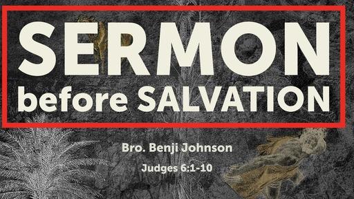 Sermon before Salvation