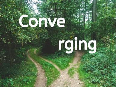 Converging