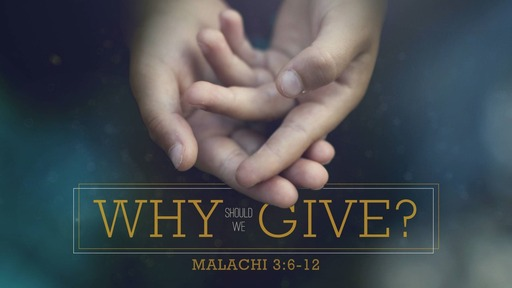 Why Should We Give?
