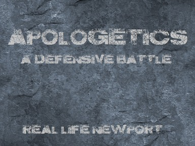 The Problem of Suffering--Apologetics #6
