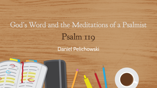 God's Word and the Meditations of a Psalmist