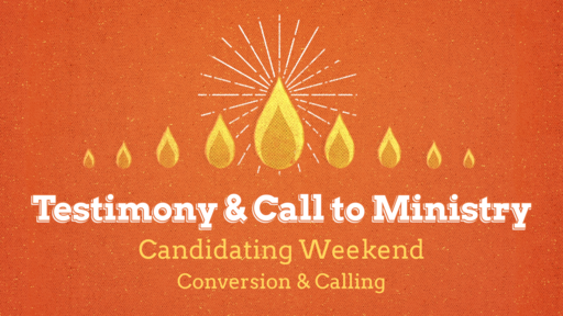 Testimony & Call to Ministry
