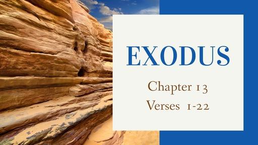 Exodus 13:1-22
