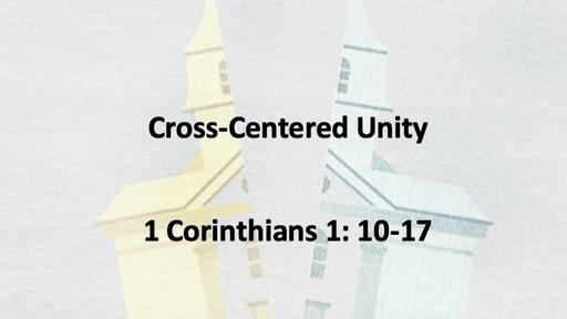 Cross Centered Unity
