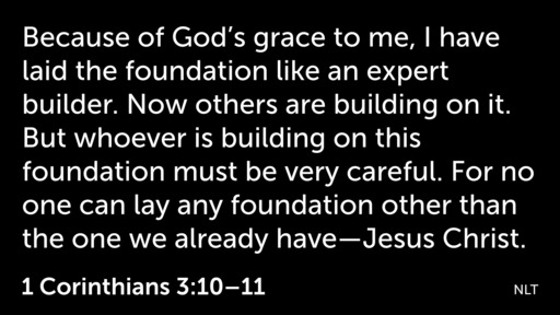 The Foundation Called Yesterday