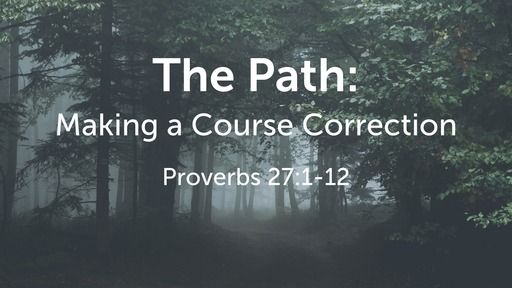 The Path: Making a Course Correction