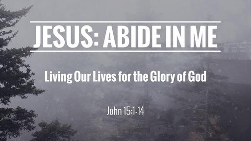 Jesus: Abide In Me