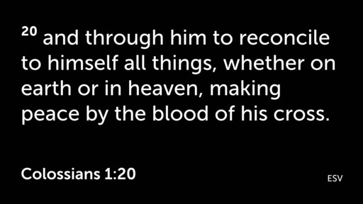 March 1, 2020 - Colossians 1:24-2:5